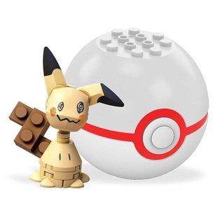 MEGA Brand Figurine - Pokémon - Mega Construx Mimikyu avec Premier Poké Ball Série 3