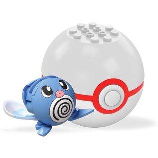 MEGA Brand Figurine - Pokémon - Mega Construx Poliwag avec Premier Poké Ball Série 3