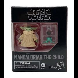 "Hasbro Figurine - Star Wars The Mandalorian - The Child ""Bébé Yoda"" The Black Series avec Accessoires 1.2"""