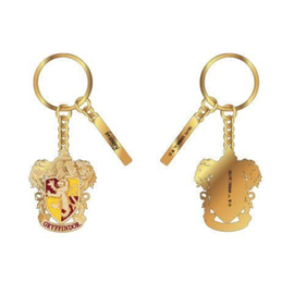 Bioworld Keychain - Harry Potter - Gryffindor Crest ''Bravery'' Metal with Enamel