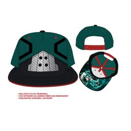 Bioworld Cap - My Hero Academia - Deku Uniform Embroidered