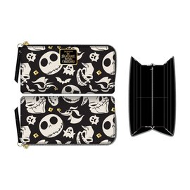 Bioworld Wallet - Disney - The Nightmare Before Christmas:  Characters Black and White