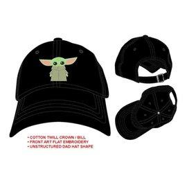 Bioworld Casquette - Star Wars The Mandalorian - The Child ''Bébé Yoda'' Chibi Noire