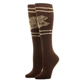 Bioworld Socks - Harry Potter - Hogwarts Brown Trunk Style 1 Pair Knee High