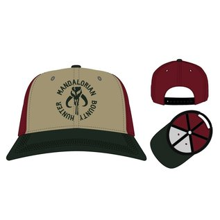 Bioworld Casquette - Star Wars The Mandalorian - Mandalorian Bounty Hunter