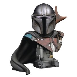 Diamond Toys Collectible - Star Wars - Legends in 3-Dimension The Mandalorian 1/2 Scale Resin Bust