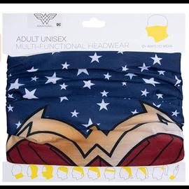 Bioworld Headband - DC Comics - Wonder Woman: Fabric Neck Gaiter Multi-Fonctional 12 Ways to Wear