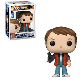 Funko Funko Pop! Movies - Back To The Future - Marty In Puffy Vest 961