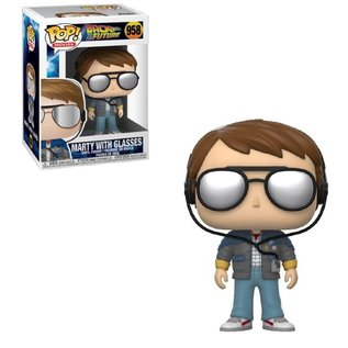 Funko Funko Pop! Movies - Back To The Future - Marty With Glasses 958
