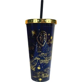 Spoontiques Travel Glass - Harry Potter - Constellations with Straw 20oz