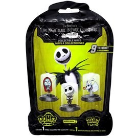 Zag Toys Blind Bag - Disney - The Nightmare Before Christmas: Mini Figurine in an Dome Domez Series 2