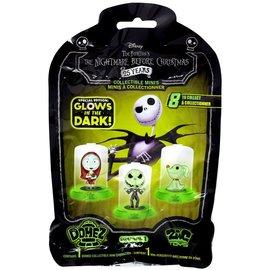 Zag Toys Sac mystère - Disney - The Nightmare Before Christmas: Mini Figurine dans un Dôme Brille dans le Noir Domez Série 1