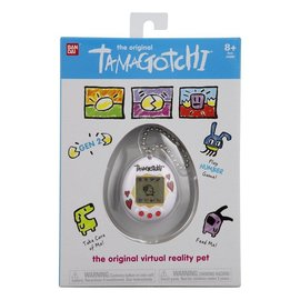 Bandai Jouet - Tamagotchi Original - Motif de Coeurs Animal Virtuel Gen 2