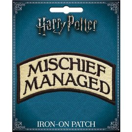 Ata-Boy Patch - Harry Potter - Mischief Managed