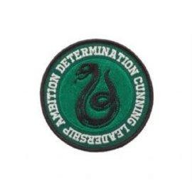 Bioworld Patch - Harry Potter - Serpent de Serpentard Determination, Leadership, Ambition et Rusé