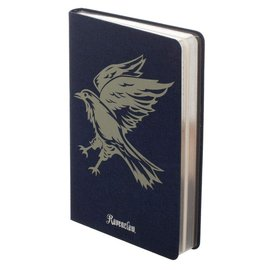 Bioworld Notebook - Harry Potter - Ravenclaw House in Blue Fabric