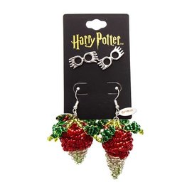 Bioworld Earrings - Harry Potter - Luna Lovegood Set with Glasses and Radishes
