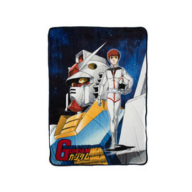 Bioworld Blanket - Mobile Suit Gundam - Original Cover Fleece Throw