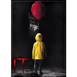 Ata-Boy Magnet - IT - Pennywise with Georgie