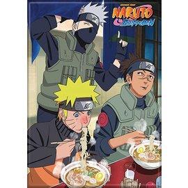 Ata-Boy Magnet - Naruto Shippuden - Naruto, Kakashi and Iruka Eating Ramen