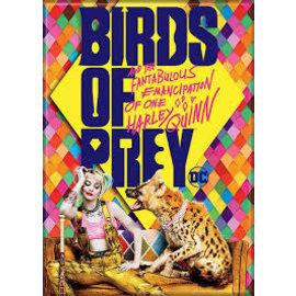 Ata-Boy Magnet - DC Comics - Birds of Prey: Harley Quinn with Hyena