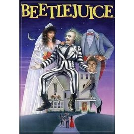 Ata-Boy Magnet - Beetlejuice - Original Movie Poster