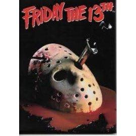 Ata-Boy Magnet - Friday the 13th - Bloody Jason Mask