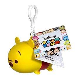 Squeezables Porte-clés - Disney Tsum Tsum - Winnie L'Ourson Parfumé au Miel