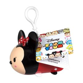 Squeezables Keychain - Disney Tsum Tsum - Minnie Mouse Strawberry Scented
