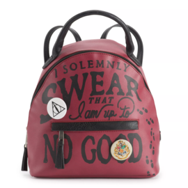 Bioworld Mini Sac à Dos - Harry Potter - I Solemnly Swear That I'm Up To No Good Avec Macarons