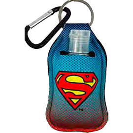 Spoontiques Hand Sanitizer Holder - DC Comics - Superman Logo