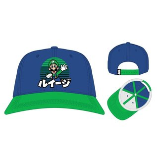 Bioworld Casquette - Nintendo Super Mario Bros. - Luigi en Japonais