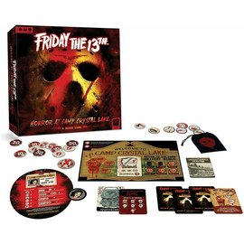 The OP Games Jeu de société - Friday The 13th - Horror at Camp Crystal Lake