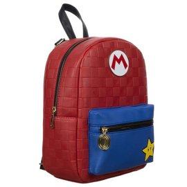 Bioworld Mini Backpack - Nintendo - Super Mario: M Embossed with Metal Logo