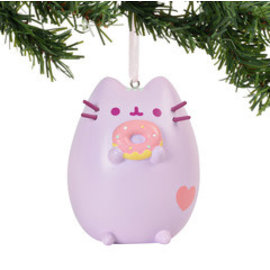Enesco Holiday Decoration - Pusheen - Donut Vinyl Tree Ornament 3''