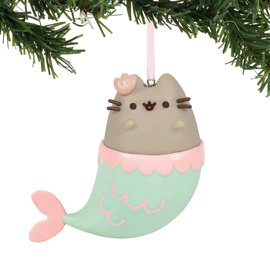 Enesco Holiday Decoration - Pusheen -  Mermaid Vinyl Tree Ornament 3''