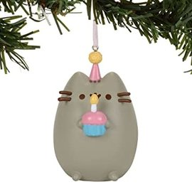 Enesco Holiday Decoration - Pusheen - Cupcake Vinyl Tree Ornament 3''