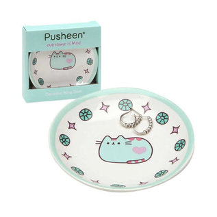 Our Name is Mud Assiette - Pusheen - Plat pour Bijoux Turquoise