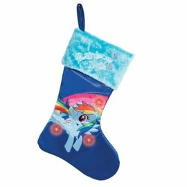 Kurt S. Adler Holiday Decoration - My Little Pony - Rainbow Dash Christmas Stockings 17""