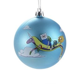 Kurt S. Adler Holiday Decoration - Adventure Time - Blue Ball Christmas Tree Ornament 3""