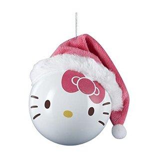 """Kurt S. Adler Article des Fêtes - Hello Kitty - Boule Rose avec Tuque Ornements pour Sapin de Noël 3"""""""
