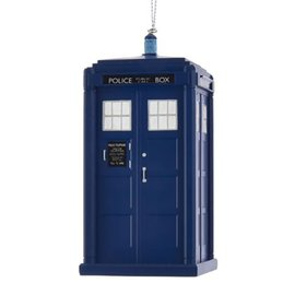 Kurt S. Adler Holiday Decoration - Doctor Who - Tardis Christmas Tree Ornament 4""