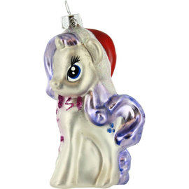 One Hundred 80 Holiday Decoration - My Little Pony - Twilight Sparkle Glass Christmas Tree Ornament