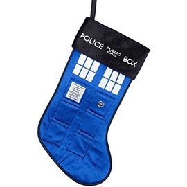 Kurt S. Adler Holiday Decoration - Doctor Who - Tardis Christmas Stockings 17""