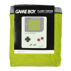 Bioworld Couverture - Nintendo - Game Boy Jeté en Peluche