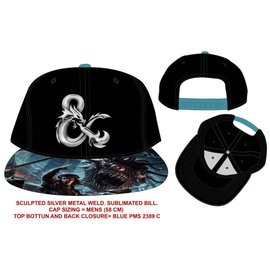 Bioworld Cap - Dungeons & Dragons - Metallic Ampersand Logo