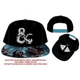Bioworld Casquette - Dungeons & Dragons - Logo Ampersand Métallique
