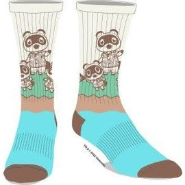 Bioworld Chaussettes - Animal Crossing - Tom Nook 1 Paire Crew