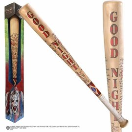 """Noble Collection Collectionable - Dc Comics - Suicide Squad Réplique du Bâton de Baseball Good Night d'Harley Quinn à L'Échelle 32"""""""