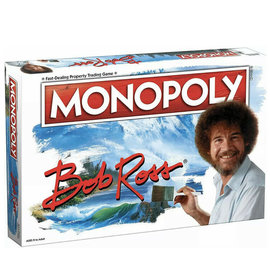 Usaopoly Board Game - Bob Ross The Joy of Painting - Monopoly Bob Ross
